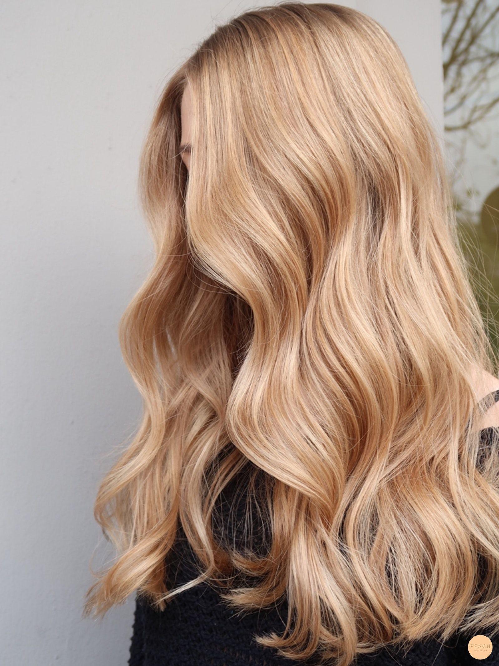 Natürliche Unterseite des heißen blonden balayage - Pfirsich Stockholm - #bala...,  #Bala #Ba... #blondebalayage