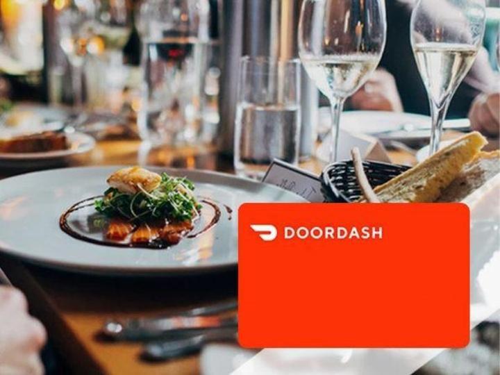 Doordash gift card lifesaver gift during lockdown gift