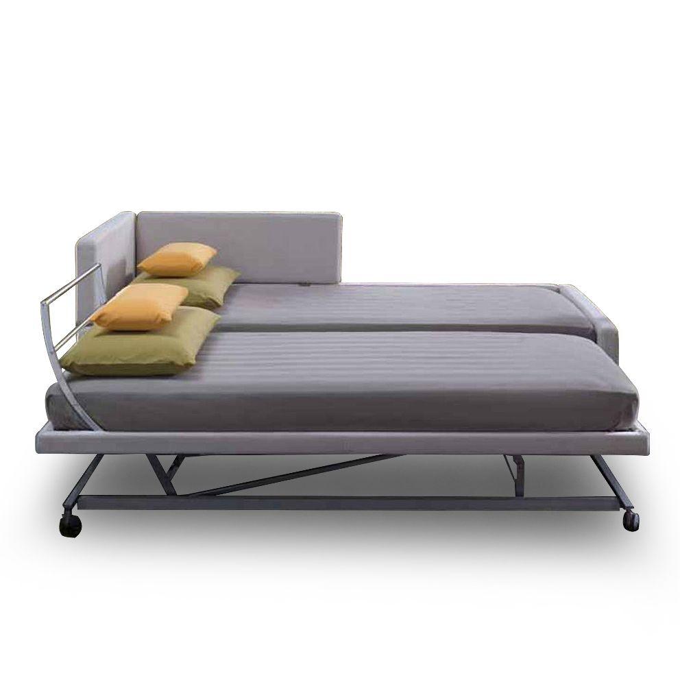 doublez votre espace couchage avec le canap lit gigogne solal qualit haut de gamme. Black Bedroom Furniture Sets. Home Design Ideas