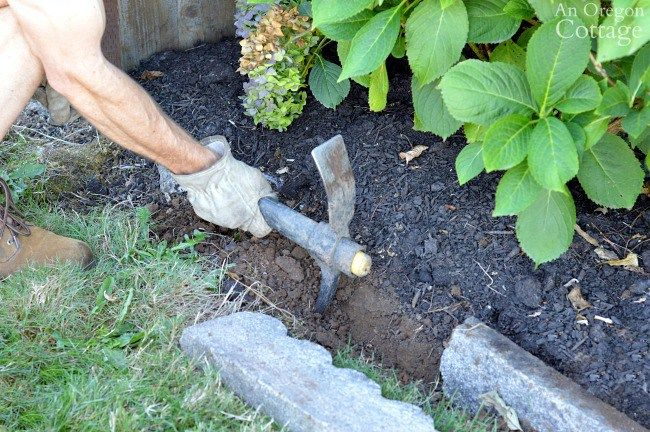Easy Inexpensive Cement Garden Edging For Beds Paths With Images Cement Garden Garden Edging Garden Prepping