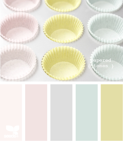 Papered tones color swatches color palettes design seeds - Wandfarbe pfirsich ...