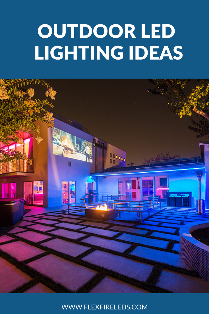 Outdoor Led Lighting Ideas Outdoor Led Strips Led Outdoor Lighting Outdoor Entertaining Area
