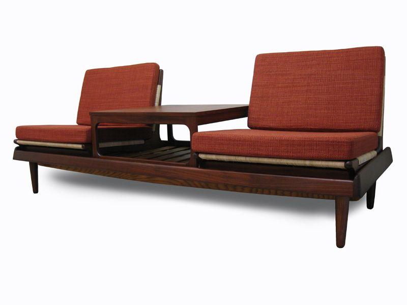 Exceptional Danish Furniture   ... Century Modern Danish Scandinavian Vintage Furniture  Bench Seat Table Design Ideas