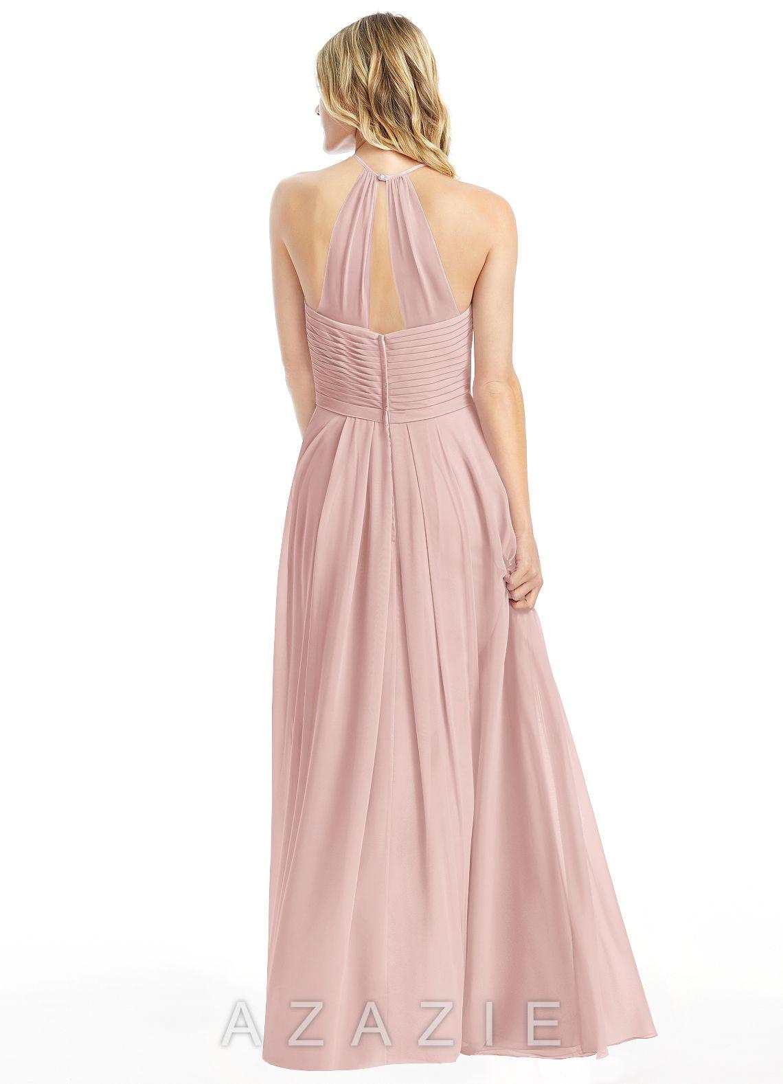 94c1529a21a Azazie Ginger Bridesmaid Dress - Coral