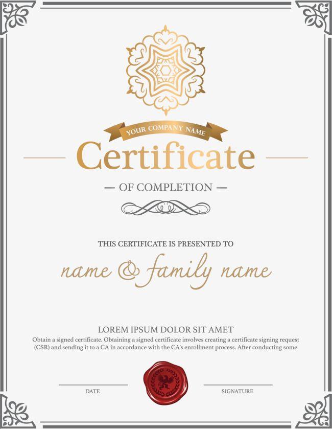 Diplomatraining Certificatecertificate Templateenglish