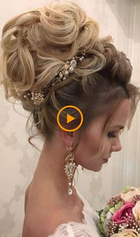 100 peinados de boda largos Wow-Worthy por Elstile – Boda y novia