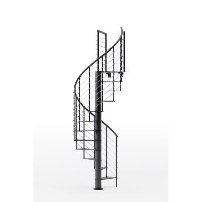 Best Mylen Stairs Hayden Black 42 In 3 Ft 6 In Wide 13 400 x 300