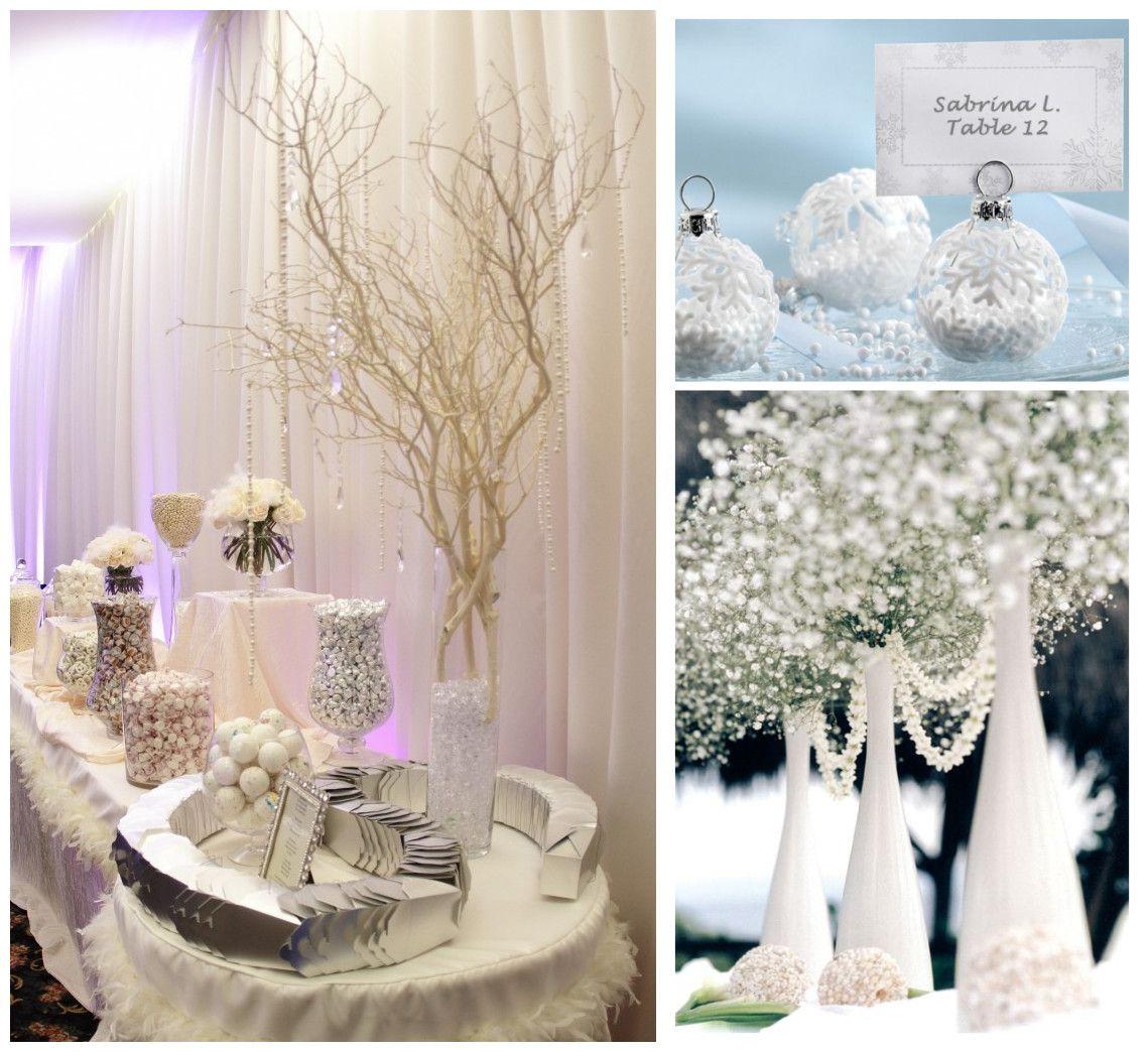 mariage hiver no l blanc et bleu f erie d 39 un mariage en hiver pinterest no l blanc la. Black Bedroom Furniture Sets. Home Design Ideas
