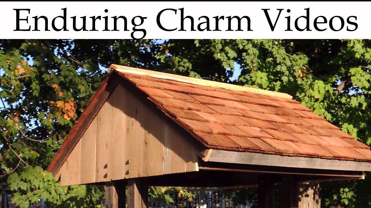 Best Cedar Shingle Roof For A Wellhouse Cedar Shingle Roof 640 x 480