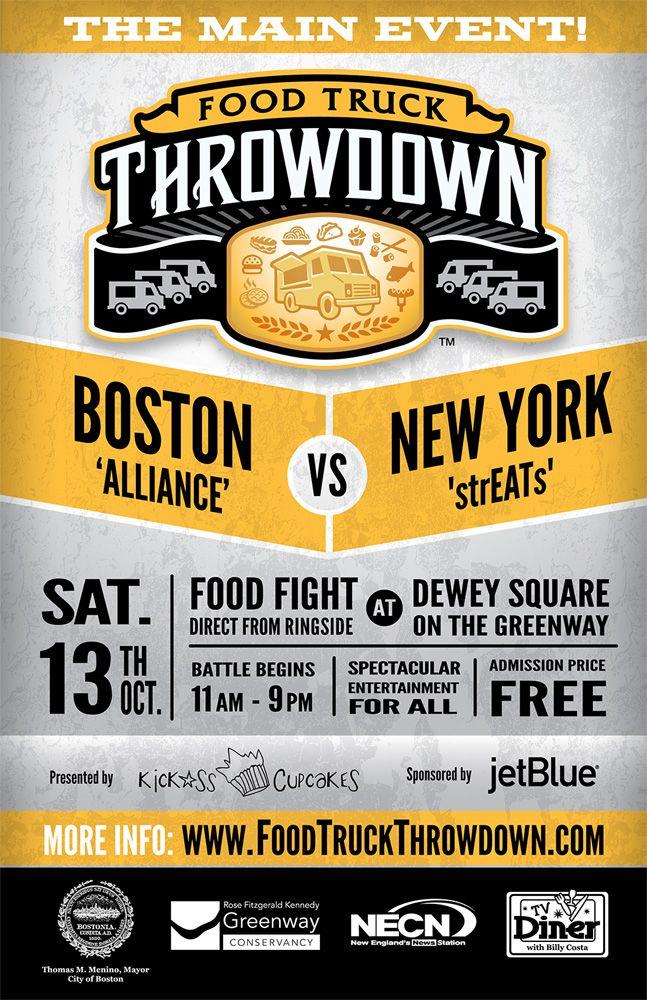 food truck throwdown 11x17 event poster