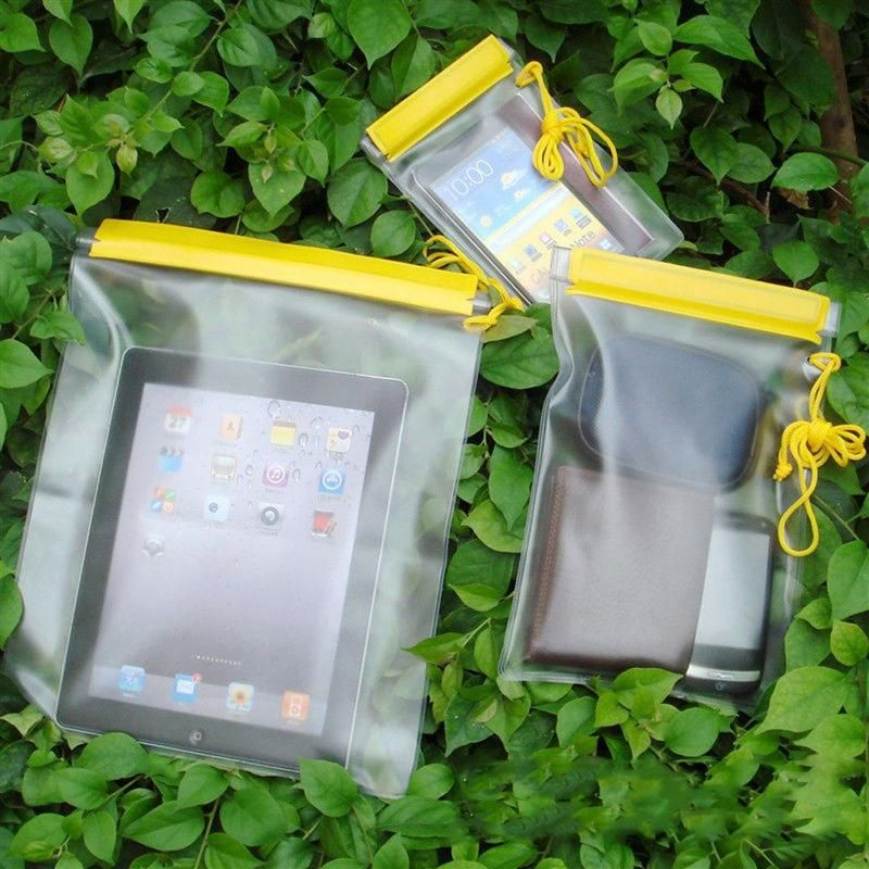 Photo of 3Pcs Waterproof Storage Dry Bag Outdoor Camping Boating Swimming Floating Cellphone Carrier Bag Waterproof Storage Organizer