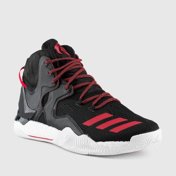 b163aa4638c adidas - Men s D Rose 7 (Black White Scarlet)