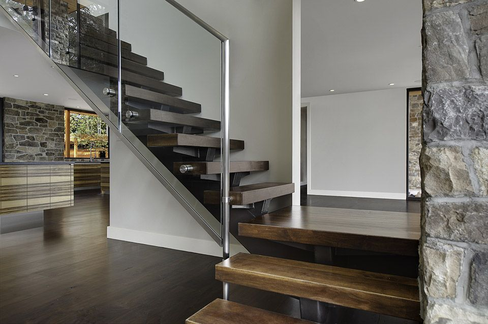 Best Modern Railing Design Glass And Stainless Steel Staircase 640 x 480