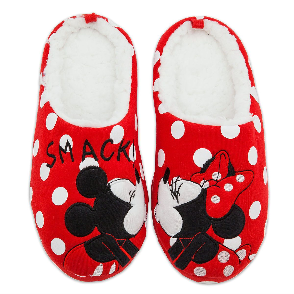 Mickey and Minnie Mouse Slippers for