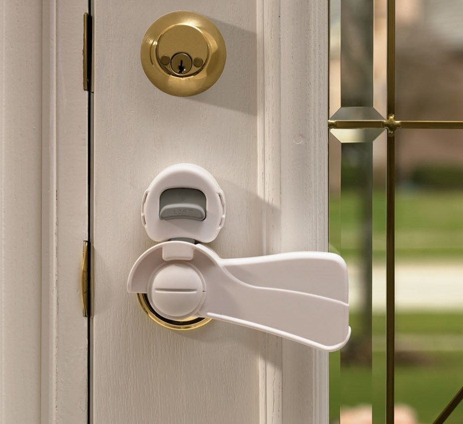 Lever Door Knob Child Proof Door Locks And Knobs for dimensions 4224 X 3168 Child Safety Door Knob Locks - This is a very simple guide to changing a busted & Best Safety Door Knob Covers | http://retrocomputinggeek.com ...