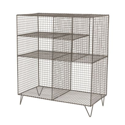 Low Wire Free Standing Metal Storage Unit Bathroom Storage Units Wire Storage Storage