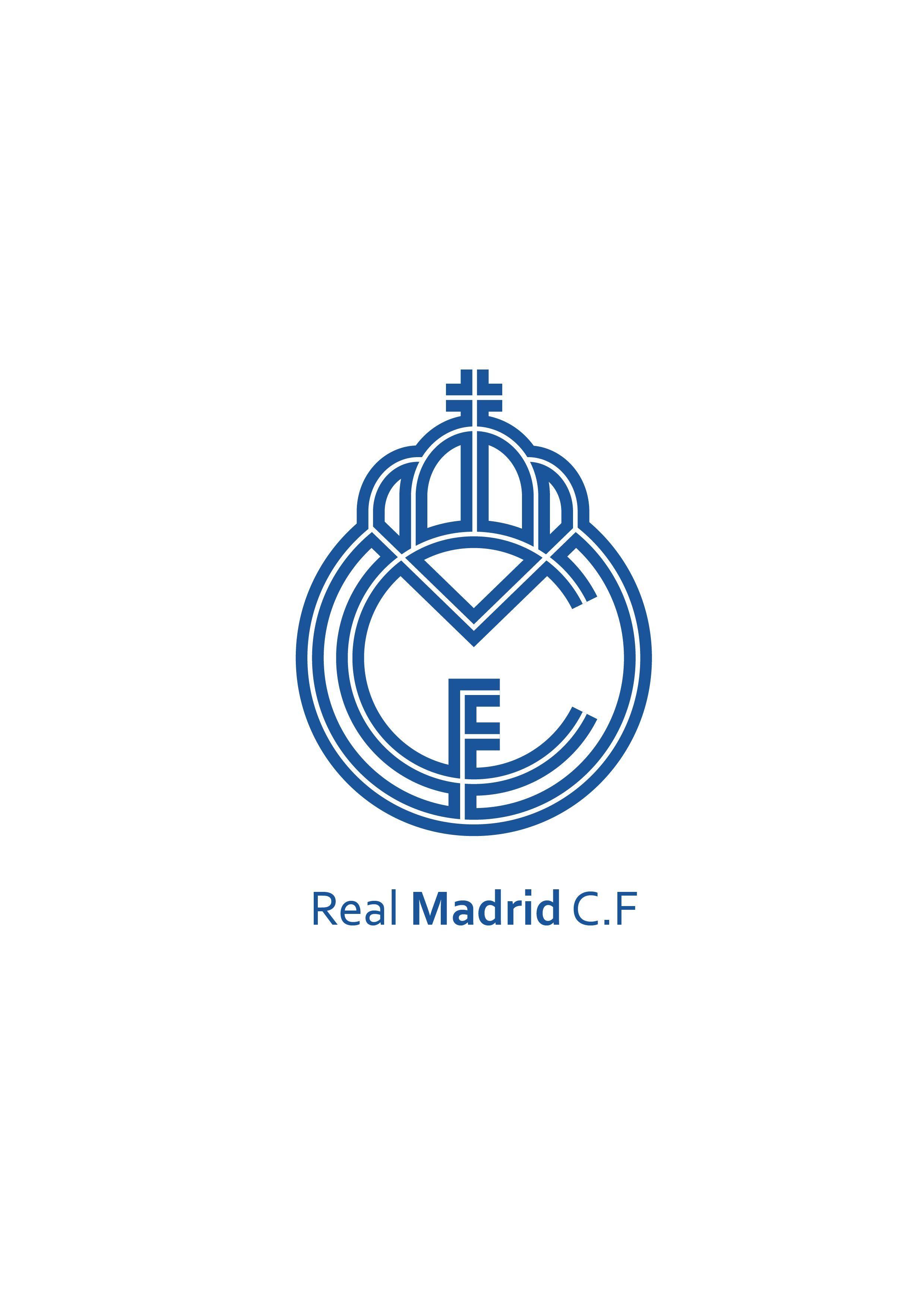 Pin Oleh Karine Sl Di Real Madrid Cf Logo Di 2020