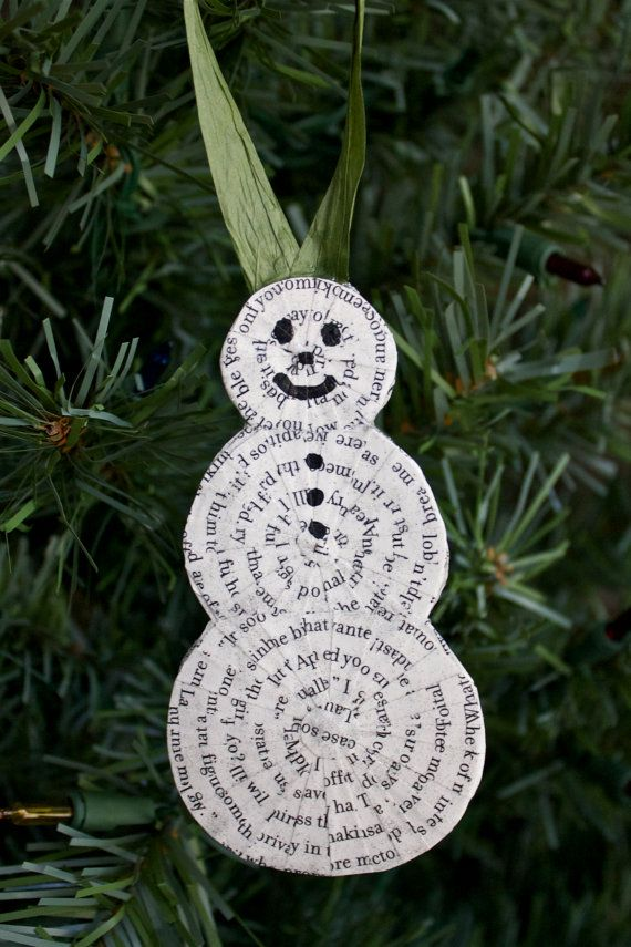 19 Best images about Themed Christmas Tree - Library on ... |Library Book Ornaments
