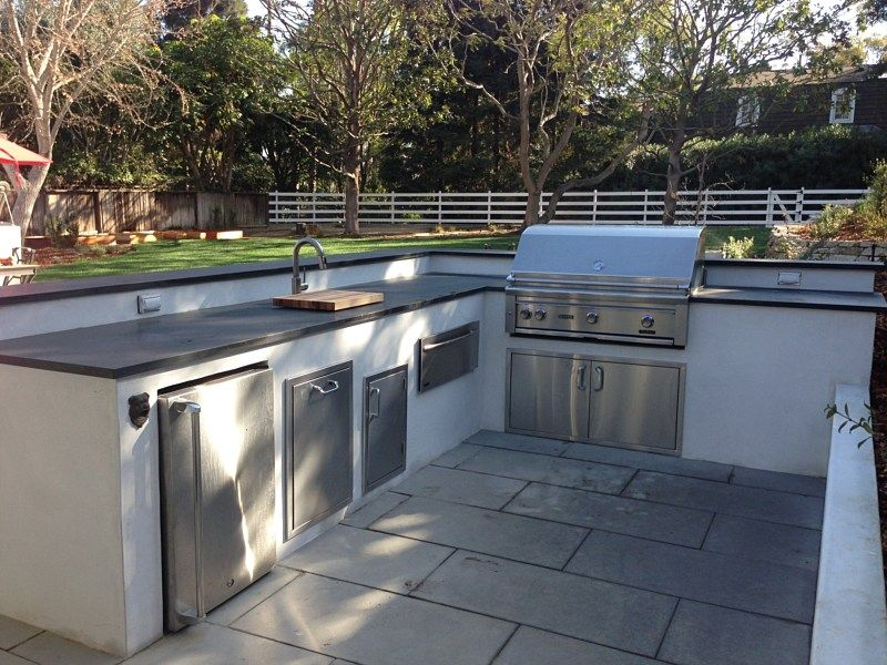 Image Result For Bbq Islands With White Stucco Finish Build Outdoor Kitchen Outdoor Grill Island Modern Outdoor Grills
