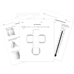 Free Printable Geometry and Measurement Worksheets and