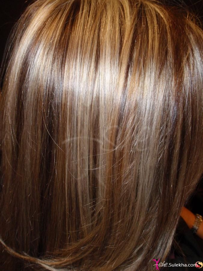 Gold Color on Straight Hair Photo & Picture -437 | Hair ...