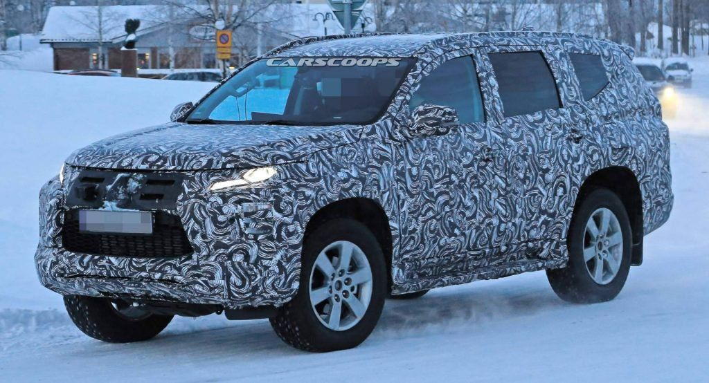2020 Mitsubishi Pajero Sport Getting An L200 Style Facelift