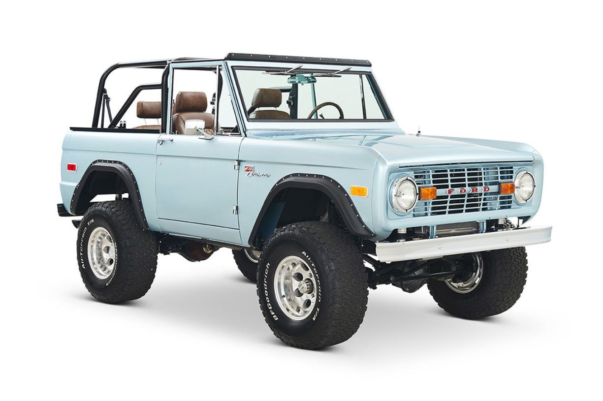 Early Bronco Restoration | Our Builds | Classic Ford Broncos