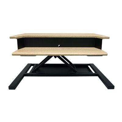 Symple Stuff Pro Pneumatic Height Adjustable Standing Desk Converter | Wayfair.ca