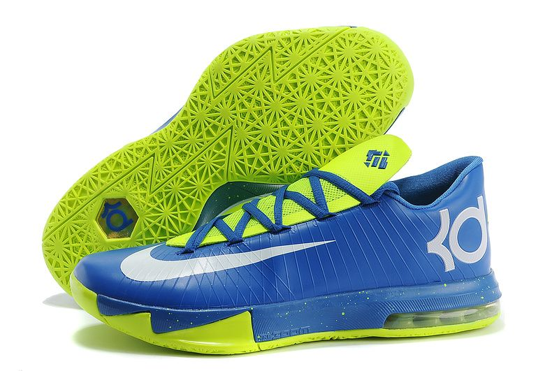 blue kevin durant shoes