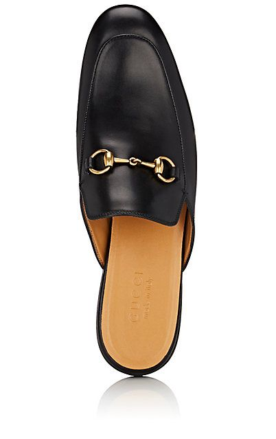a2fc3bce784 Gucci King Leather Mules - Loafers - 504858983