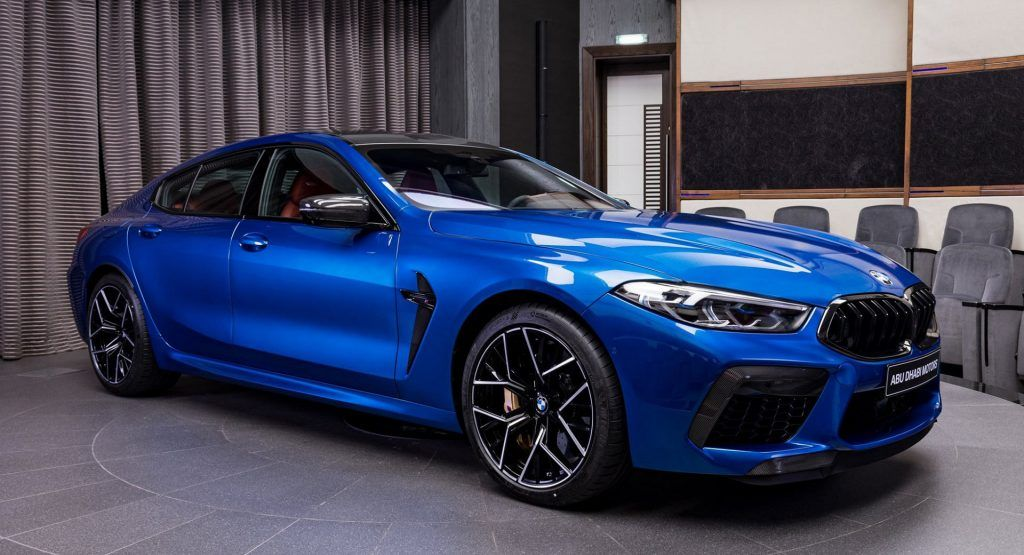 Sonic Speed Blue Looks Perfect On The Bmw M8 Competition Gran