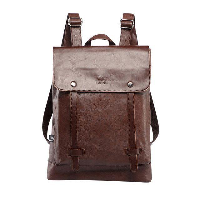 2c5fa7c269 Backpack For Men Large Capacity Solid Shoulder Bag Satchels School Bag  Travel Style Luxury Men Bags Designer Male Backpacks