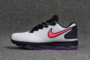 80d20073273b Mens Nike Air Zoom All Out Kpu Grey Red Purple Black White Running Shoes