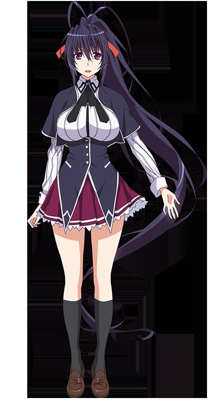 Akeno Himejima Dxd, Anime high school, Highschool dxd