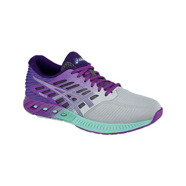 Fashion ASICS Fuzex Womens Running Shoes SilverMintOrchid