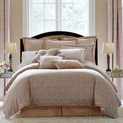 14 Piece Queen Odelina Embroidered Bed in a Bag Set ... |Deluca Comforter Set