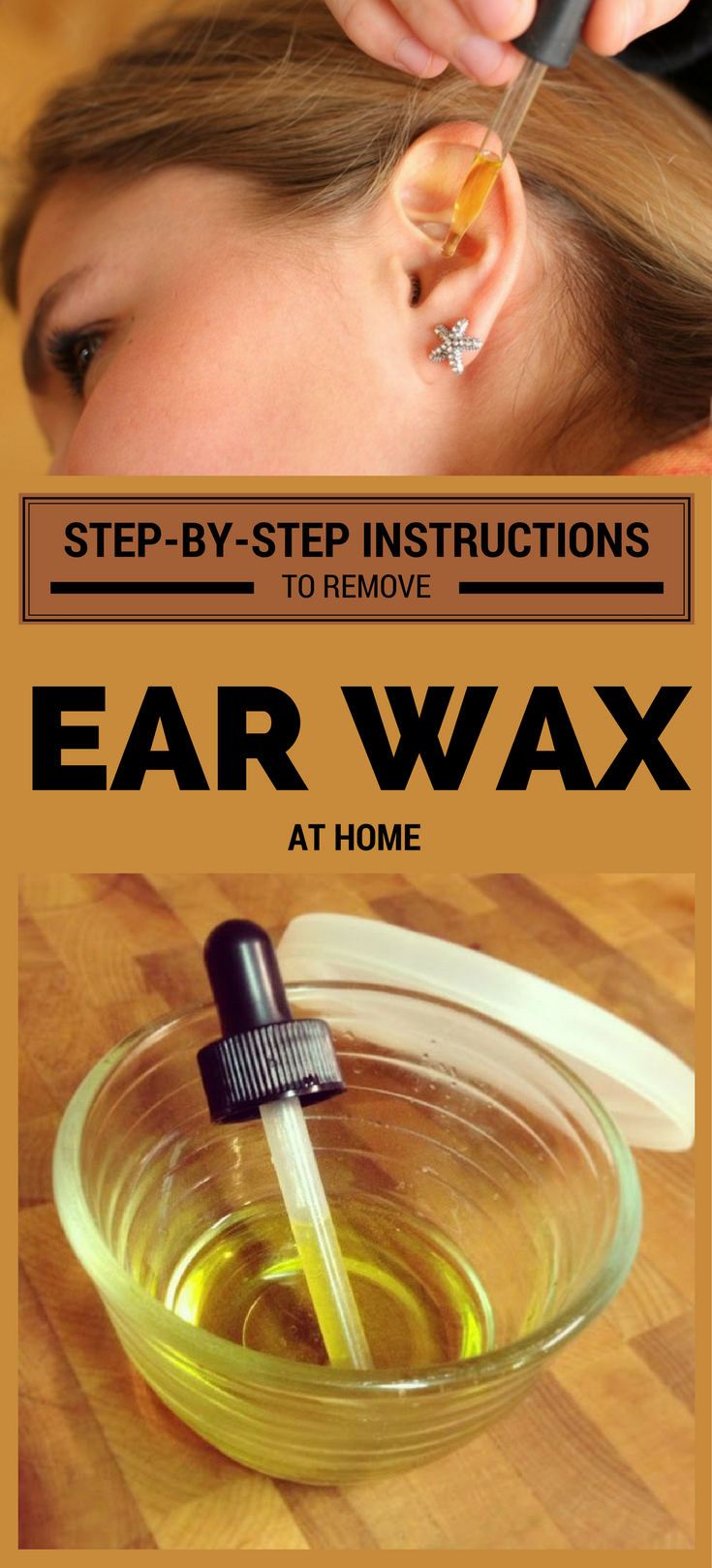 Step By Step Instructions To Remove Ear Wax At Home In 2020