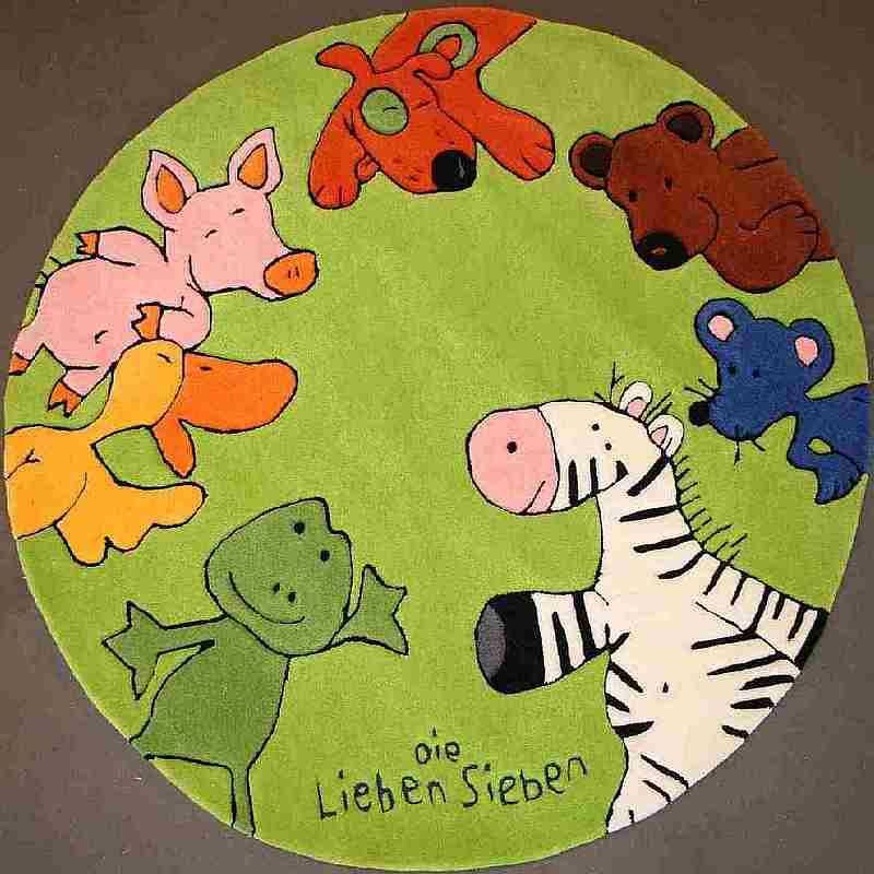 Kinderteppich die lieben sieben  Die lieben Sieben Kinderteppich | kinderland24 | Pinterest ...