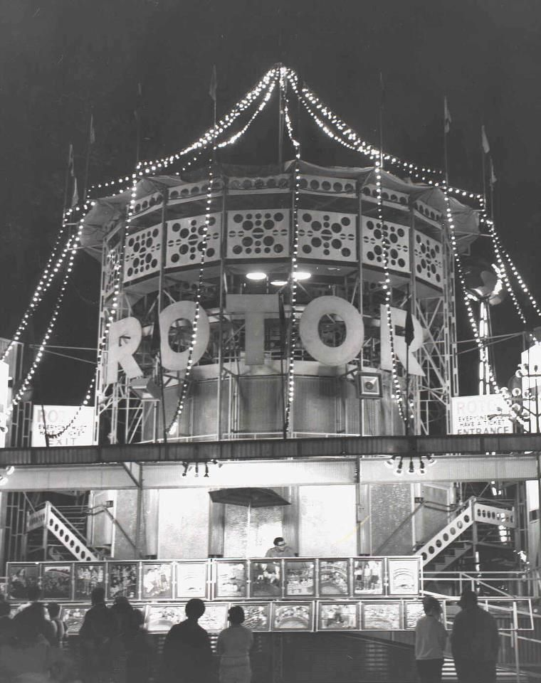 Old Rotor In Kennywood Park Pennsylvania History Amusement Park Pittsburgh Pa