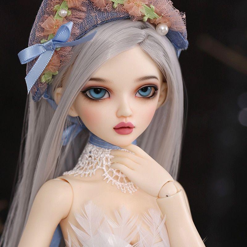 1//4 Lillycat Ellana BJD SD Doll Model Girls Resin Toys High Quality Free Face Up