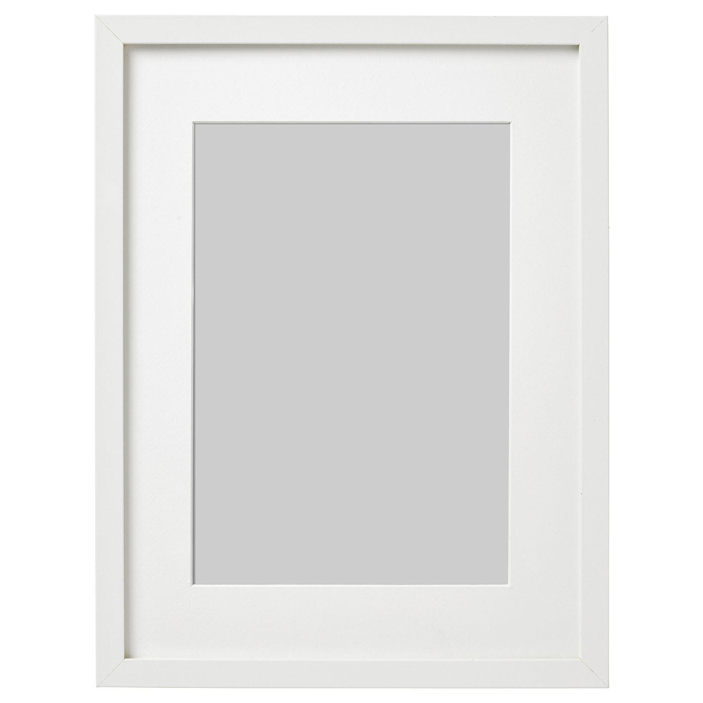 Ribba Ramka Bialy 30x40 Cm Dowiedz Sie Wiecej Ikea In 2020 Ribba Frame Frames On Wall Frame