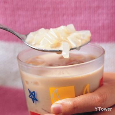 冰椰果奶茶食譜 - 飲料類料理 - 楊桃美食網 專業食譜
