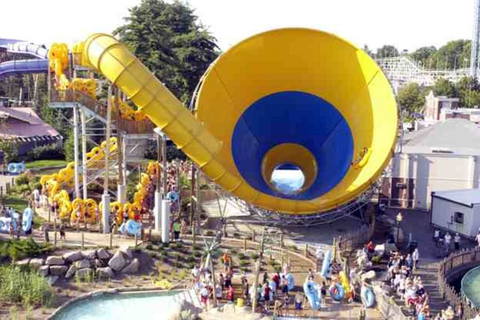 Six Flags White Water Thrill Ride Six Flags Riding