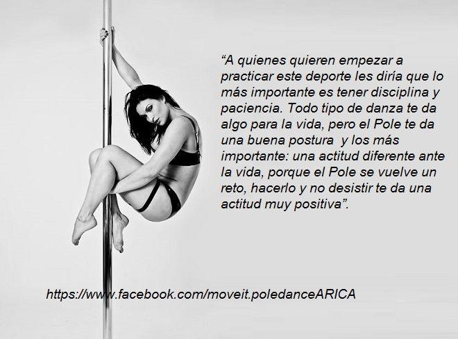 5a770eb06554 es una pasion Fitness De Barra, Acrobacias, Entrenamiento De Baile, Baile  De Tubo