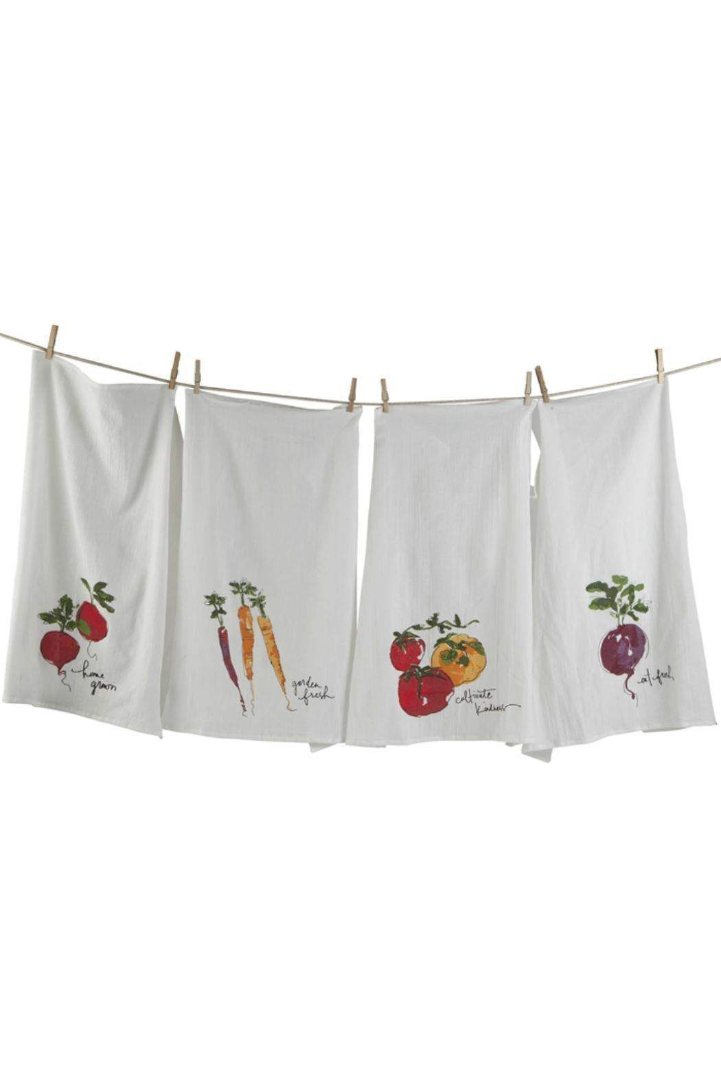 Tag Ltd Veggie Floursack Towels Kitchen Towels Dish Towels
