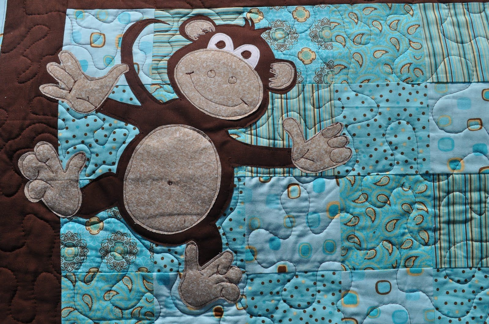 Monkey quilt pattern free distant pickles: making monkeys.. and