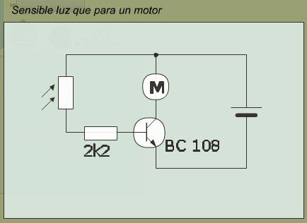 luz motor
