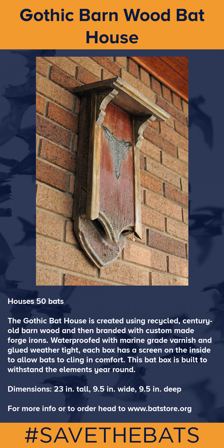 The Gothic Bat House Is Created Using Recycled Century Old Barn Wood And Then