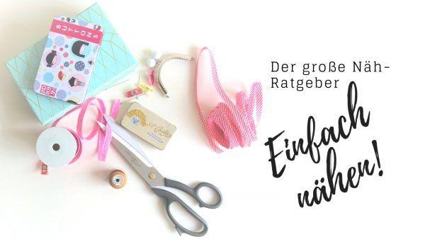 PDF: SewSimple Näh-Ratgeber (80 Seiten) #sewinghacksvideos