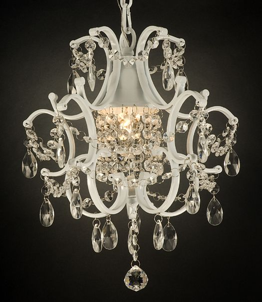 I never knew i could get awesome vintage looking chandeliers for i never knew i could get awesome vintage looking chandeliers for the girls rooms at a aloadofball Image collections